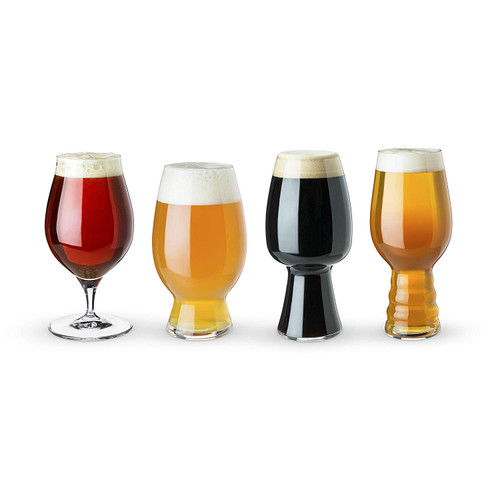 Spiegelau Deluxe Craft Beer Tasting Kit - Set of 4 Beer Glasses