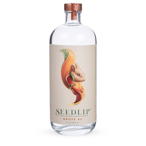 Seedlip Grove 42 Citrus Distilled Non-Alcoholic Spirits - 700ml