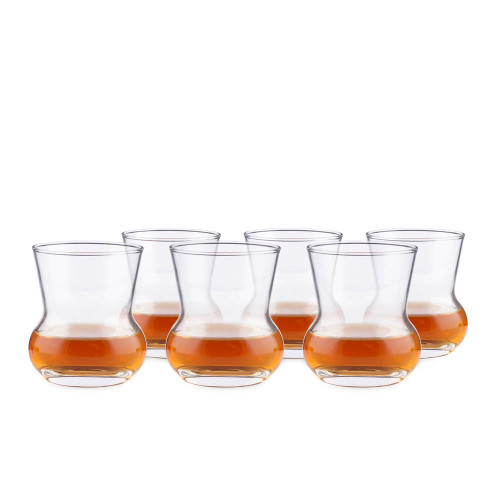 Urban Bar Thistle Dram Whiskey Glasses - 4 oz - Set of 6
