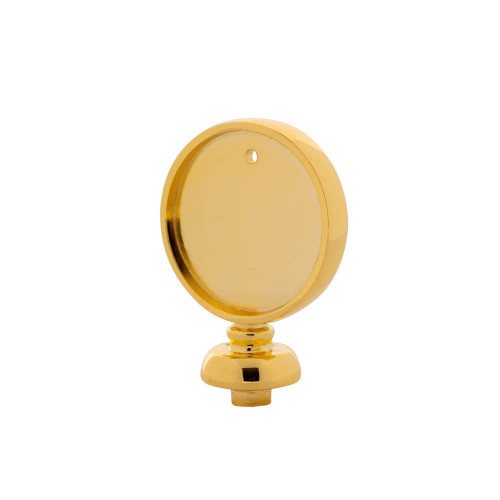 Beer Tap Handle Disc Finial - Gold Colored