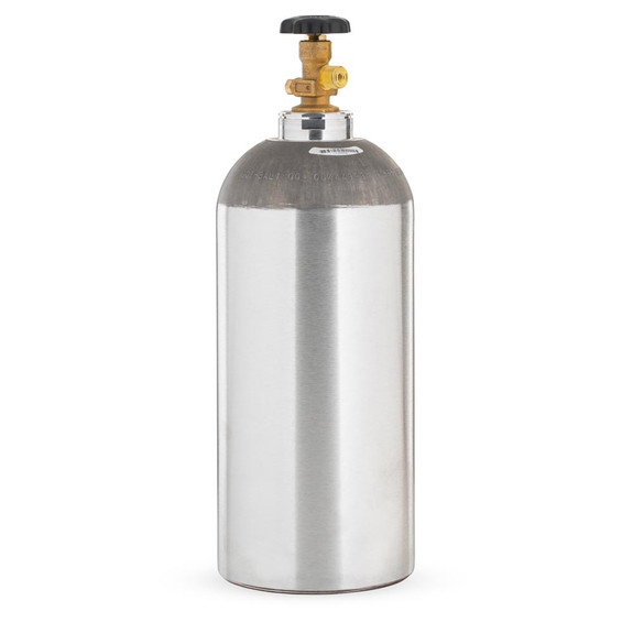 10lb Aluminum CO2 Air Tank - Empty