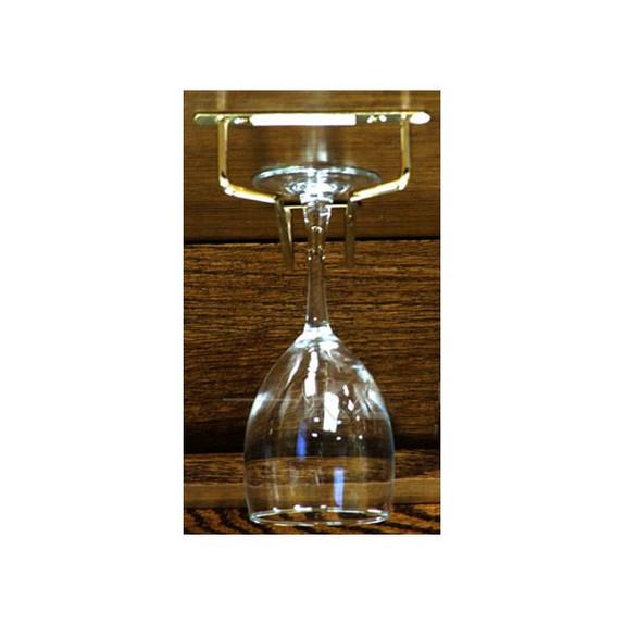 metal wine glass rack