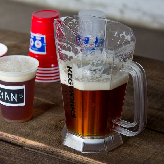 Polar Beer Pitcher with Ice Core - 60 oz