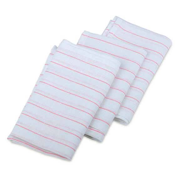Lint-Free Glassware Bar Towels - Set of 3