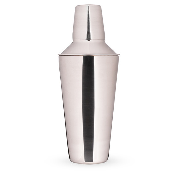 3 Piece Cocktail Shaker - Stainless Steel - 28 oz