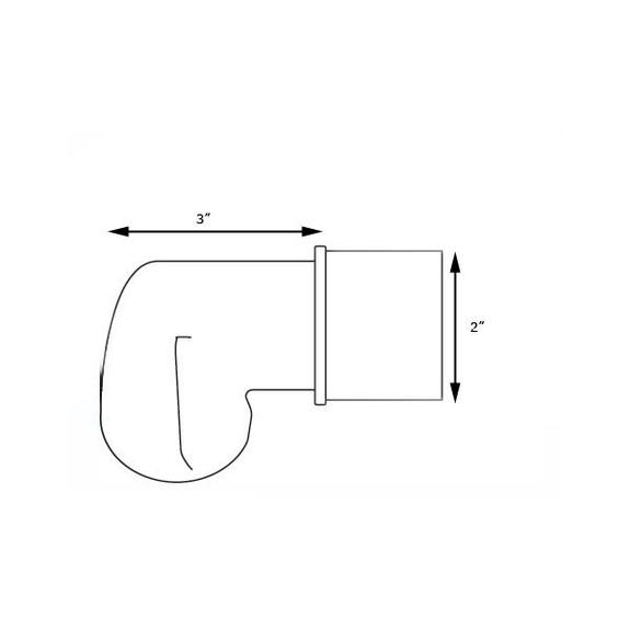 scroll end cap measurements