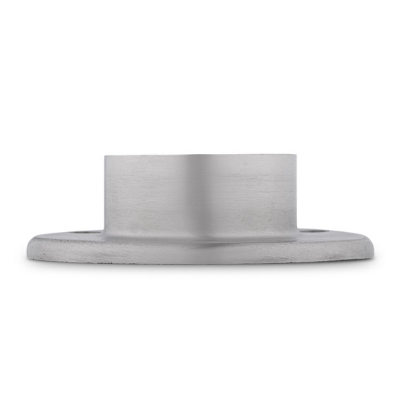 "4"" Wall Flange - Brushed Stainless Steel - 2"" OD"