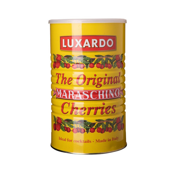 Luxardo Gourmet Maraschino Cherries - 12 lb Can