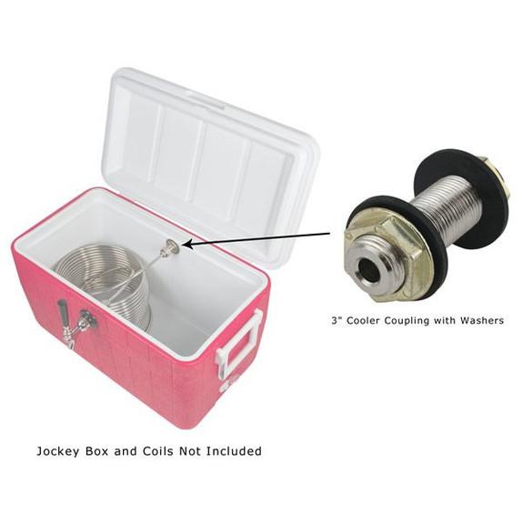 Jockey Box Diagram with Cooler Coupling