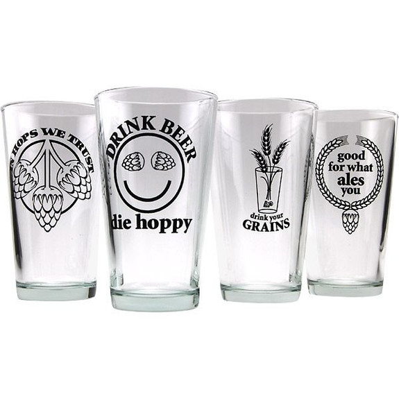 beer pint glasses
