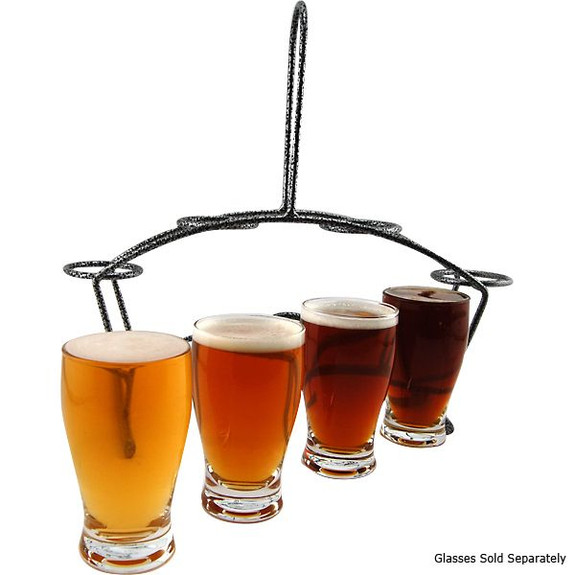 beer tasting glassware carrier
