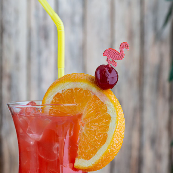 Flamingo Party Cocktail Picks