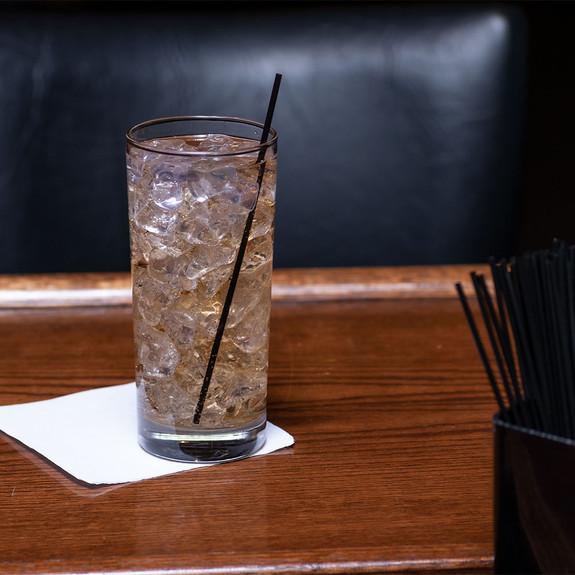 "Cocktail Stir Straws - 2500 Count - Black 7"""