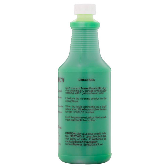 KegWorks Brand Beer Line Cleaning Solution -32oz.