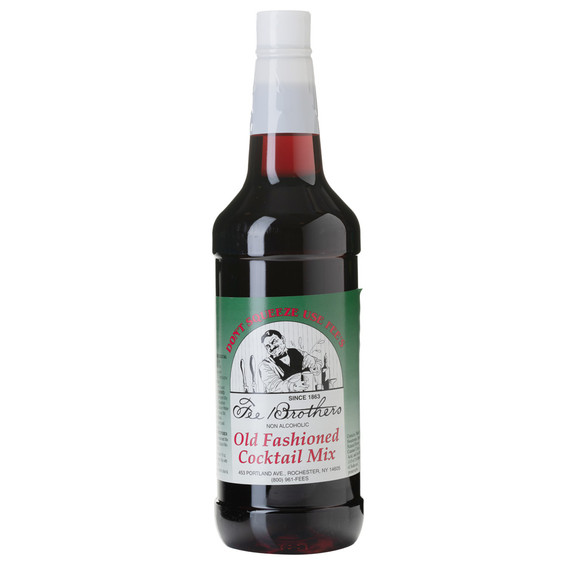 Fee Brothers Old Fashioned Cocktail Mix - 32 oz