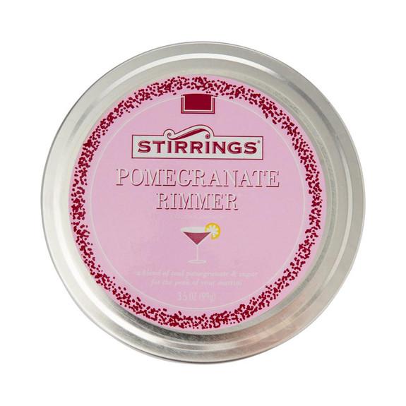 Stirrings Pomegranate Cocktail Garnish Rimming Sugar - 3 1/2 oz