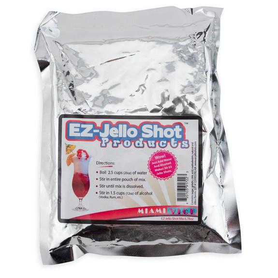 Miami Vice Cocktail Flavored Jello Shot Mix - 6.78 oz