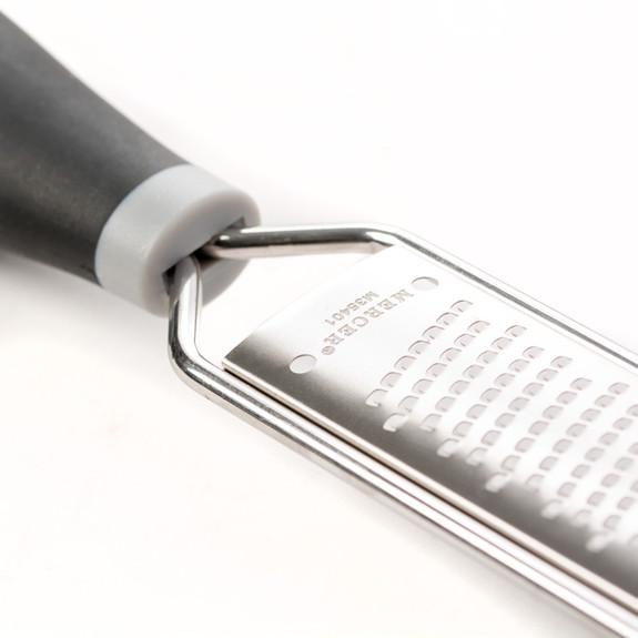 Mercer Handheld Spice & Citrus Fine Zester & Grater - Stainless Steel