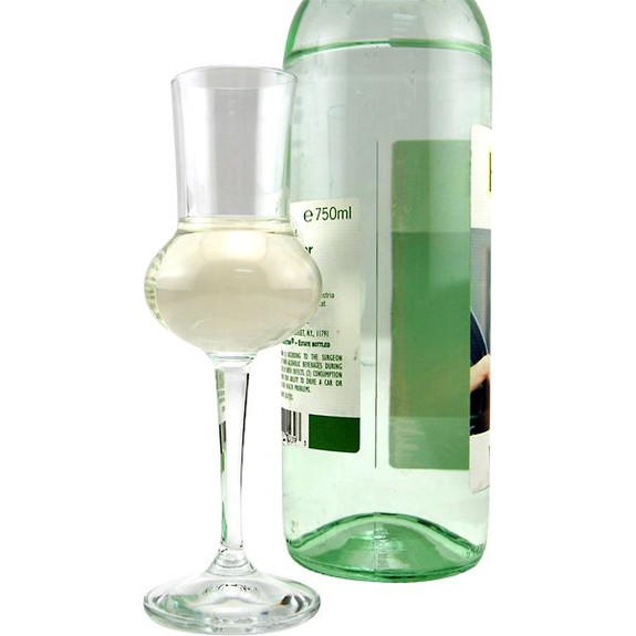 grappa liquor glass