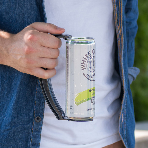 Instant Beer Stein Can Grip Handle - Slim Can