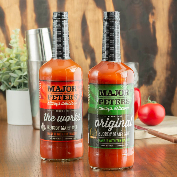 Major Peters' The Works Bloody Mary Mix - 32 oz