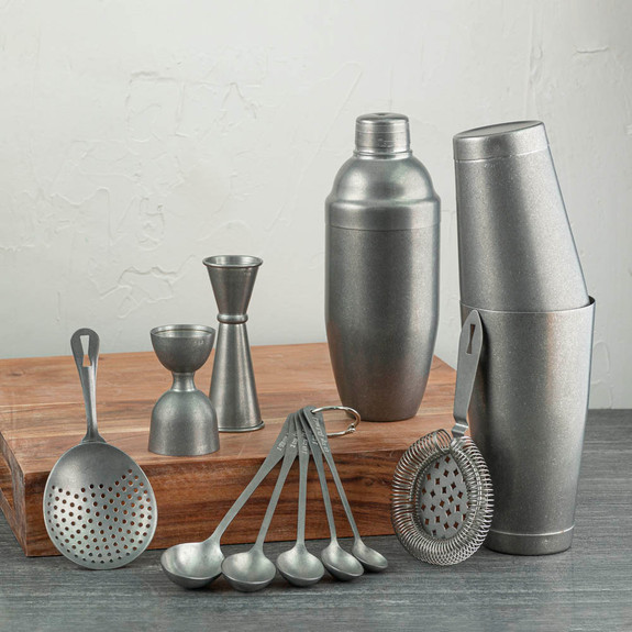 Barfly Vintage Stainless Steel Finish Collection