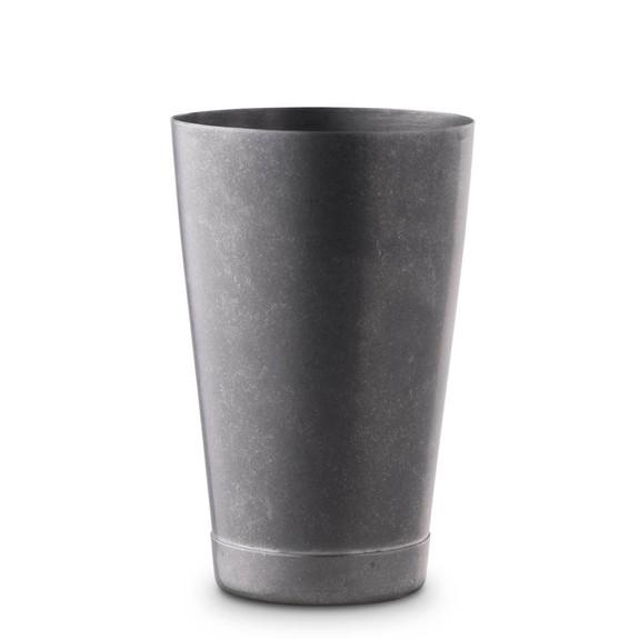 Barfly Short Shaker Tin - 18 oz - Vintage Stainless Steel Finish