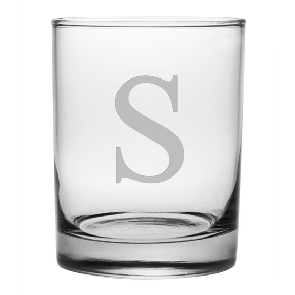 Aristocrat Rocks Glasses - Set of 4