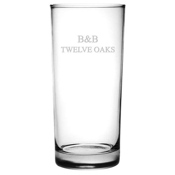 Aristocrat Hi Ball Glasses - Set of 4 (Free Personalization)
