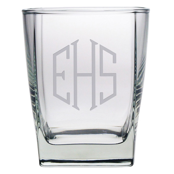 Sterling Rocks Glasses - Set of 4 (Free Personalization)
