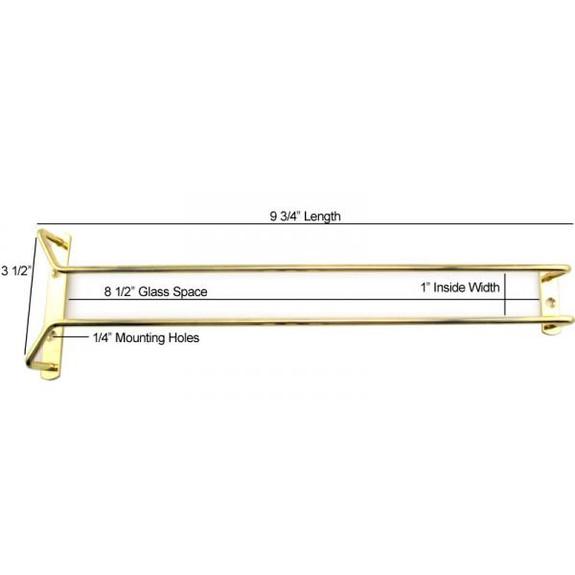 glass rack measurements