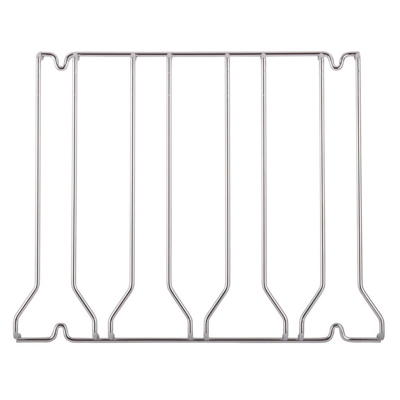 4-Channel Glass Rack - Chrome
