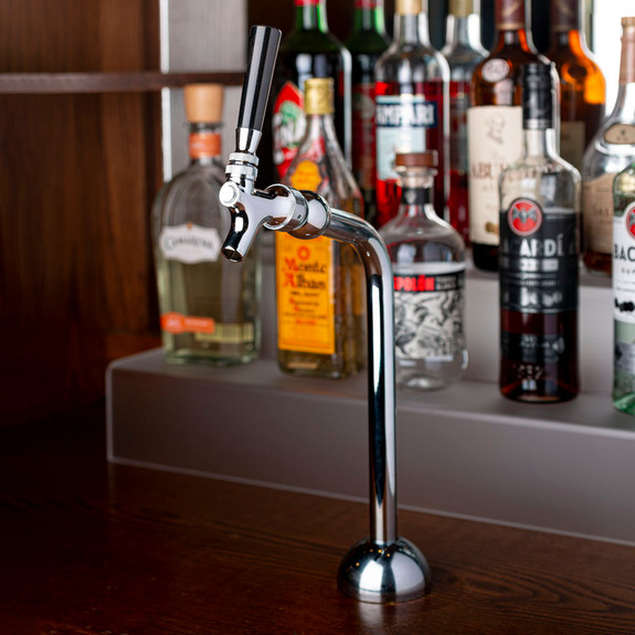 Axis Draft Beer Tower - Chrome - 1 Faucet