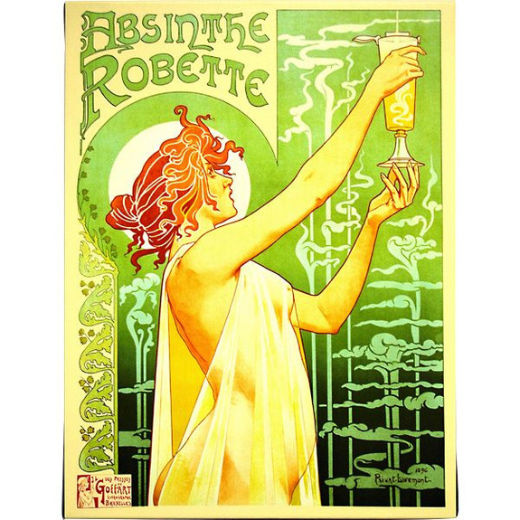 absinthe artwork