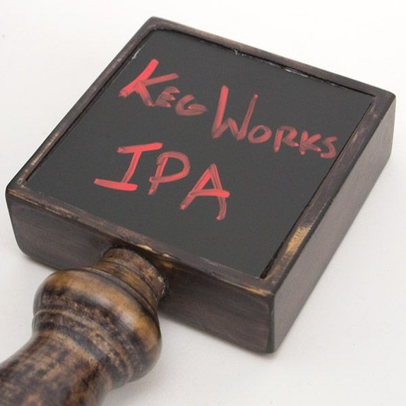 Tap Board Chalk Board Beer Tap Handle with Chalk