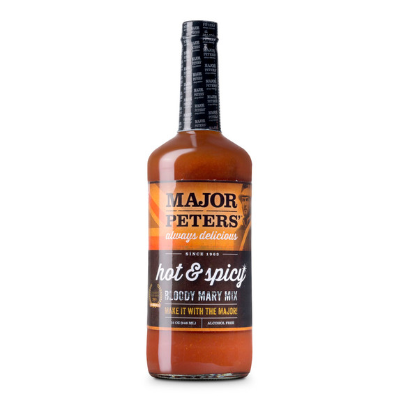 Major Peters' Hot & Spicy Bloody Mary Mix - 32 oz