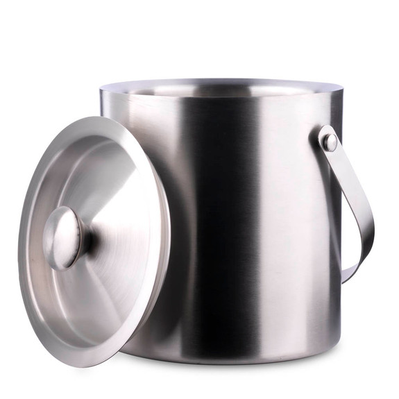 Behind The Bar�� Stainless Steel Double Walled Ice Bucket - 1.5 Quarts