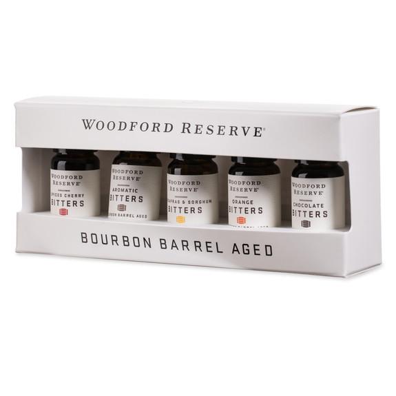 Woodford Reserve Bourbon Barrel Aged Cocktail Bitters Gift Pack - Set of 5 Bottle