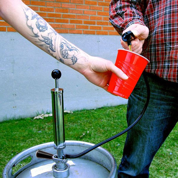 party keg pump