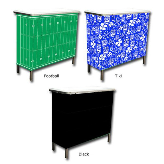 GoBar Portable High Top Bar with Interchangeable Skirts