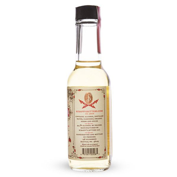Scrappy's Habanero Firewater Cocktail Bitters - 5 oz