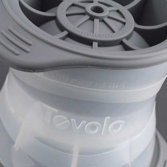 Tovolo Sphere Ice Molds Close Up