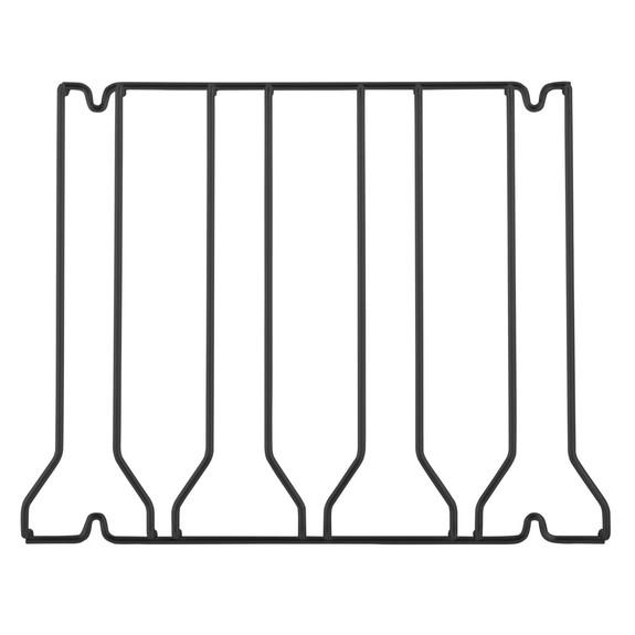 4-Channel Glass Rack - Black