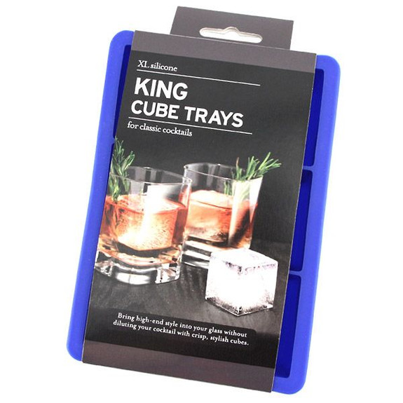 Tovolo King Cube Ice Trays - Blue in Package