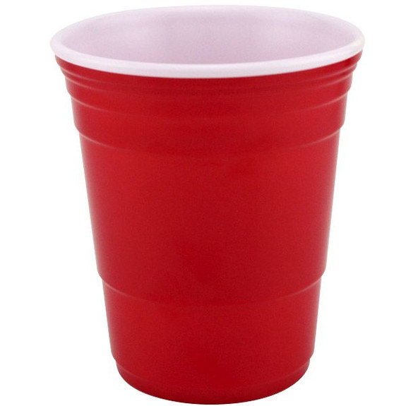 The Icon Reusable Red Cup - 18 oz