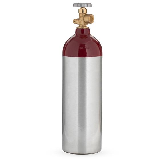 Nitrogen Gas Tank - 22 Cubic Foot Aluminum - Empty