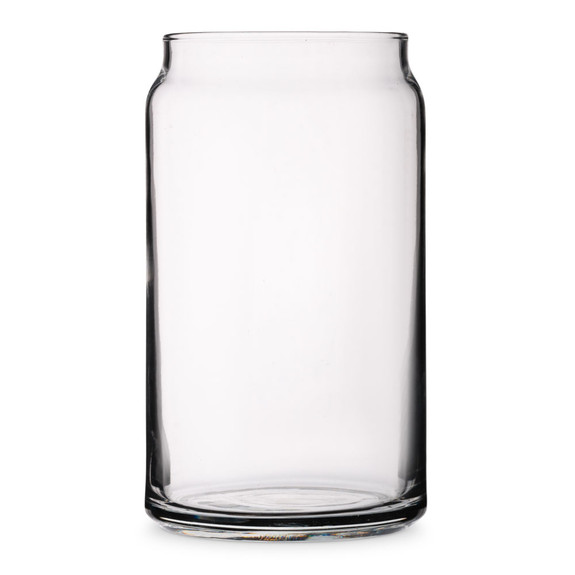 Libbey Can Shaped Beer Glass - 16 oz
