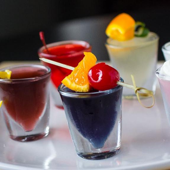 Blue Mai Tai Flavored Jello Shot