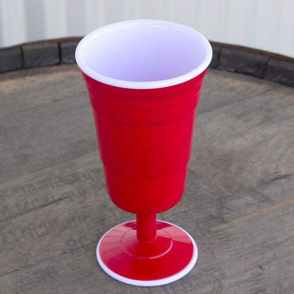 Wine Reusable Red Cup outside