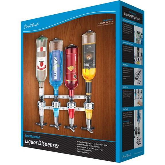 Wall Mounted Liquor Shot Dispenser Box